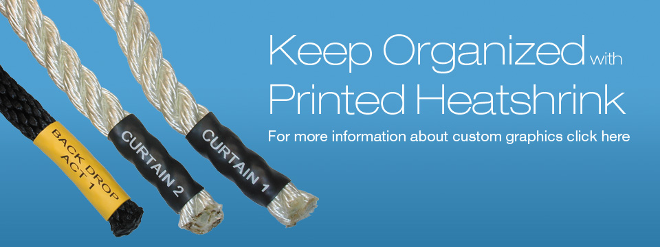 Heatshrink - Tubing, Cutting, Printing